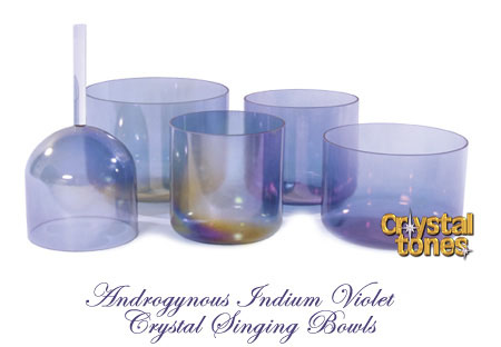 アルケミー・クリスタルボウル/アンドロジナス インジウム The Androgynous Indium Series