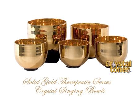 アルケミー・クリスタルボウル/純金ボウル(Solid Gold Therapeutic)